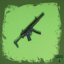 mp5sd escala 1 4 accesorios cosplay pistola escala rifle Ametralladora 1 4 grg réplica armas