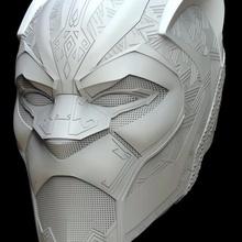 siyah panter sonsuzluk savaş maske