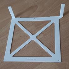 Mini itx bohren Vorlage Fall Mantel pc Modding Mainboard itx