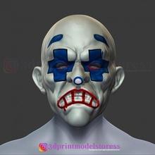 palyaço uşaklar maske karanlık şövalye Kostüm oyunu maske joker Kostüm oyunu maske Kostüm oyunu kask 3d Yazdır dosya sahne Kostüm oyunu zırh palyaço cadılar bayramı kask joker