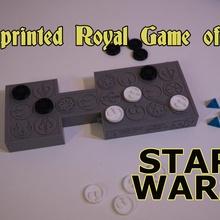 3d impreso royal juego ur estrella guerras estilo juguetes juegos estrella guerras mandaloriano estrella guerras 3d impreso boadgame royal juego ur mandaloriano