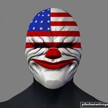 cadılar bayramı Kostüm oyunu maske kostüm kask 3d Yazdır dosya sahne Kostüm oyunu palyaço oyun cadılar bayramı kask korku joker maske Parti kafatası para Kostüm oyunu grup death mask dark knight