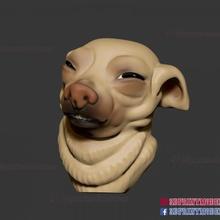 meme dog face - doge meme sculpture 3d print file toys & games animal cartoon cat cute dog face pet sculpture meme stylized doge hate meme-dog meme-dog-face doge-meme swole-doge-meme