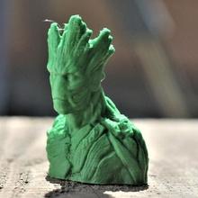 Groot fallimento fan arte 3d stampante alieno arte fallimento carta figura film gioco eroe meraviglia spazio stella statua giocattolo guerra zbrush super Vendicatori fan i fumetti ufo