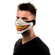 ürpertici gülümseme maskesi sahne Kostüm oyunu moda joker maske gülümsemek ürkütücü maskesi koronavirüs covid 19 kalkanı maskesi Jokerface