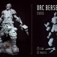 orc berserker estátua loja fantasia medieval orc estátua viking Guerreiro bruto warcraft mutante masmorra Corsário senhor guerra horda furioso berserker 1 10