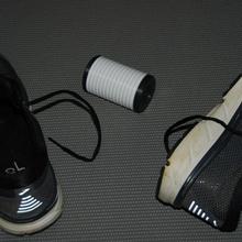 piede terapia rullo recuperare pt 1 piedi piede in esecuzione sport gli sport Palestra muscolo allenarsi esercizio terapia allungare recupero recuperare Calmati cardio terapeutico