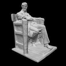 lincoln memoriale schizzo modello uomo modello scultura statua Presidente monumento maschio maquette seduto Washington DC Abraham Lincoln danielchesterfrench Uniti trono guerra civile chesterwood memoriale Lincoln