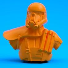 muerte soldado busto ventilador Arte busto oscuro figura película juego casco Jedi película estrella guerra Galaxias soldado muerte ciencia ficción guerras frente batalla