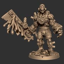 Wargast kludge brute tampo mesa fantasia golem Horror Morto vivo jogos guerra martelo guerra Frankenstein scifi tampo mesa dnd descobridor ttrpg miniaturas batalha Wargast reanimadores