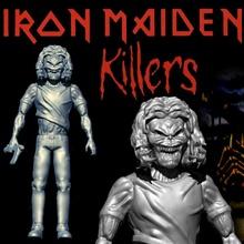 Demir bakire katil Eddie mafsallı hayran Sanat baş metal ağır Demir Eddie bakire katiller Kenner