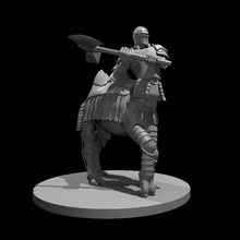 cameltaur fighter tabletop axe fighter camel centaur dungeonsanddragons dnd