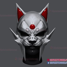 inspired lynx cosplay cat mask props & cosplay animal cat costume halloween helmet mask tiger comic cosplay robin lynx dc-comic cosplay-mask halloween-mask halloween-cosplay cosplay-helmet red-robin