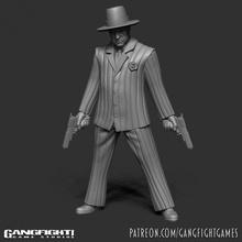 Jimmy fixateur Humain bandit table fantaisie Humain steampunk pulpe bandit mafia
