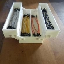affrontare scatola stile Maglione filo contenitore scatola pieghevole assemblaggio filo Maglione