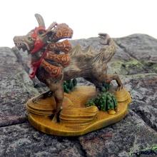 ahuizotl aztèque chien miniature mystique Pigeon jeu table aztèque bête chien singe mythologie Loup miniature donjons Dragons dndminiature résine miniaturisée ahuizotl dndmni créature légendaire