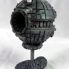 Kyhullas vingança espaço estação tampo mesa nave espacial miniatura scifi x wing xwing Estrela Morte estação Espacial borg resinminiatura borhsphere proxyminiatura