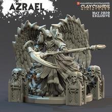 azrael mesa demonio miniaturas juego guerra martillo guerra ángel muerte calabozos Dragones mesa guadaña segador dnd pionero juegos mesa azrael parca
