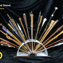open book harry potter wands stand collection desk display set stand customizable wall wizard harry wand sirius harrypotter weasley voldemort harry potter wand desk toy hermione ron elder wand harry potter jk rowling mcgonagall wizarding elder wand harry potter mcgonagall wizarding