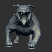 modüler karikatürizce bulldog karikatür köpek modüler parçalar Boğa bulldog Jerry Tom