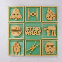 star wars picture art film gift movie picture star starwars wall r2d2 lucas stormtrooper wars darth bb8 xwing deathstar star wars atat darth vader tie fighter