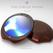 ergonomisch cyrcle Telefon Design Gadgets Elektronik Erfinder ergonomisch Designwettbewerb Keyshot 3dcad cyrclephone Designformanufacture Telefonieren