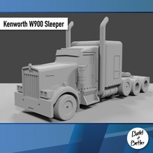 kenworth w900 1 64 scala ricambio parti scala trasporto camion furgone 64 volvo jeep dolly trailer 1 64 scania Lowboy pungiglione Bull bar petroliera Peterbilt semi 1 64
