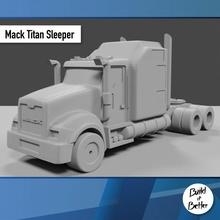 mack titano dormiente 1 64 scala ricambio parti scala trasporto camion furgone 64 volvo jeep dolly trailer 1 64 scania Lowboy pungiglione gaslands Bull bar petroliera Peterbilt