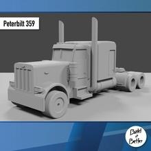 Peterbilt 359 1 64 scala ricambio parti scala trasporto camion furgone 64 volvo jeep dolly trailer 1 64 scania Lowboy pungiglione Bull bar petroliera Peterbilt semi 1 64