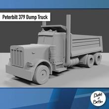 Peterbilt 379 discarica camion 1 64 scala ricambio parti scala trasporto camion furgone 64 volvo jeep dolly trailer 1 64 scania Lowboy pungiglione gaslands Bull bar petroliera