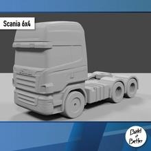 scania 6x4 1 64 scala ricambio parti scala trasporto camion furgone 64 volvo jeep dolly trailer 1 64 scania Lowboy pungiglione Bull bar petroliera Peterbilt semi 1 64
