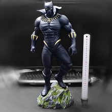 siyah panter adam anatomi hayvan Sanat siyah şekil insan adam heykel oyuncak panter
