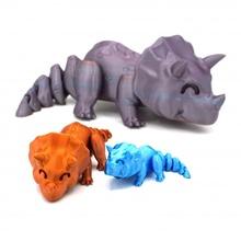 ar triceratops mağaza hayvan Şirin dino Dinozor esnek mafsallı Triceratops esnek