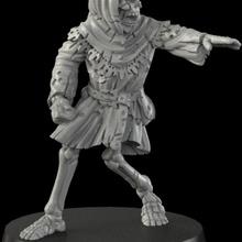 Ortaçağa ait iskelet 1 kemik fantezi oyunlar korku Ortaçağa ait iskelet kafatası destek ölümsüz zbrush minyatür masa oyunu kapı mezarlık savaş oyunu dans senaryo Kesişmeler maceracılar