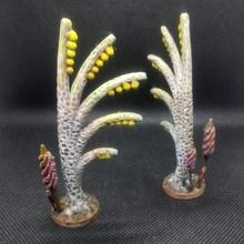 bender sci fi alberi tavolo miniature sci fi Guerre stellari terreno albero warhammer scifi tavolo impianti alberi 28mm 32mm spargere fauna tabketop