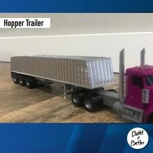 asciutto massa tramoggia trailer 1 64 scala negozio scala trasporto camion furgone grano 64 volvo asciutto jeep dolly trailer 1 64 tramoggia massa scania Lowboy pungiglione