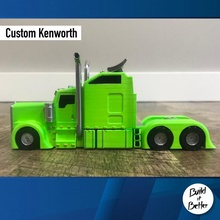 kenworth personalizzato 1 64 scala negozio scala trasporto camion furgone 64 volvo personalizzato jeep dolly trailer 1 64 scania lowrider Lowboy pungiglione gaslands Bull bar petroliera Peterbilt
