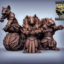 scurryni moines pré soutiens table moine rpg donjons Dragons écureuil dnd combattants présupporté