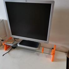 monitor estante soporte bricolaje diy ikea besta vaso estante soporte escritorio monitor oficina colegio estante soporte mesa escritorio ikea pc Universidad besta