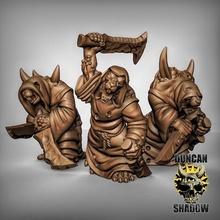 rat populaire peste moines épées table fantaisie marteau guerre rat donjons Dragons chaos dnd peste éclaireur skaven ageofsigmar aos ratfolk plaguemonk