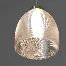 lampshade sp-14 lampshade diy fdm lamp led light math ender formula cos grasshopper ceiling tan sin