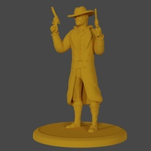 gunslinger guns dual revolver cowboy pistols gunslinger sharpshooter wielding deadeye