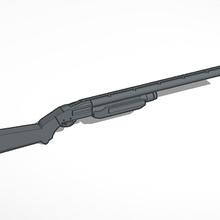 pump action fucile caccia remington mossberg