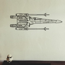 x-wing fighter 2d wall art kleinbottle art fighter star tattoo wall 2d force wars huge x-wing xwing decor squadrons