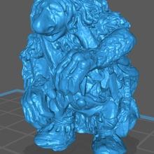 tierra Troll variante fantasía táctica mesa fantasía Troll escanear