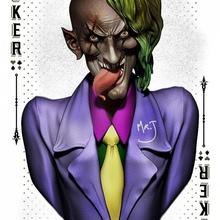 palyaço büst hayran Sanat büst palyaço joker