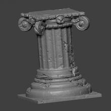 antigo pilar decorativo plinto terreno mini base mini rpg terreno miniatura plinto jogo tabuleiro base tampo mesa jogo mesa