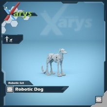 Roboter Hund Tischplatte Hund Roboter Terrier