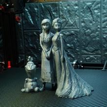 anna Elsa olaf congeladas suporte livre remixar ventilador arte fracasso figura Disney olaf anna Admirador arte congeladas Elsa