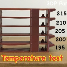 Materiale temperatura test 3d stampante Materiale 3d stampante temperatue